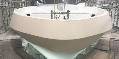 38 M Aluminum Yacht Hulls